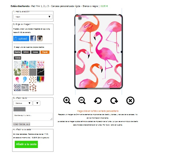make your own ipad mini hard case