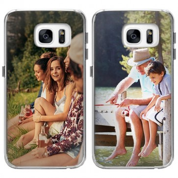 Samsung Galaxy S7 Edge - Coque Silicone Personnalisée