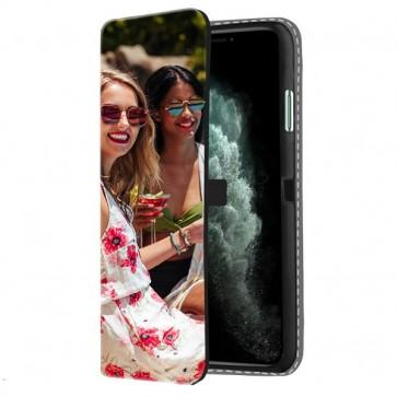 iPhone 11 Pro Max - Coque Portefeuille Personnalisée (Sur L'avant)