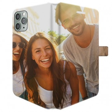 iPhone 11 Pro Max - Coque Portefeuille Personnalisée (Sur Les 2 Faces)