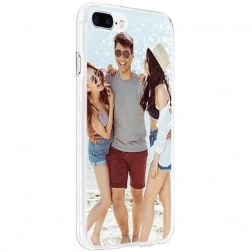 iPhone 8 PLUS - Coque rigide Coque personnalisée - Noir, Blanc ou Transparent