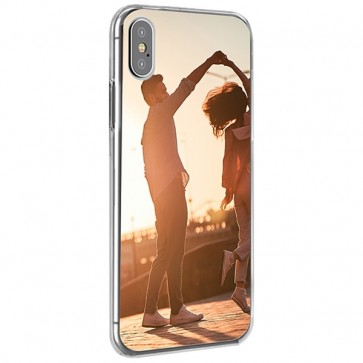 iPhone XS Max - Coque Silicone Personnalisée
