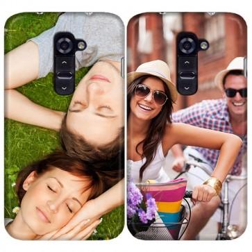 LG G2 - Coque Rigide Personnalisée à Bords Imprimés