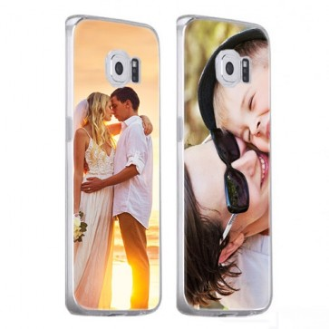 Samsung Galaxy S6 Edge - Coque Silicone Personnalisée