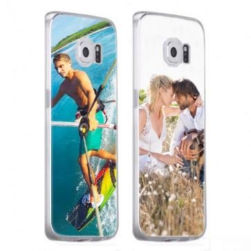 Samsung Galaxy S6 - Coque Silicone Personnalisée