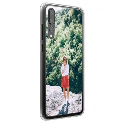 Huawei P20 Pro - Coque Silicone Personnalisée