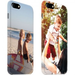 iPhone 7 - Coque Rigide Personnalisée à Bords Imprimés