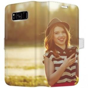 Samsung Galaxy S8 PLUS - Coque Portefeuille Personnalisée (Sur Les 2 Faces)