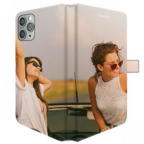 iPhone 11 Pro - Coque Portefeuille Personnalisée (Sur Les 2 Faces)