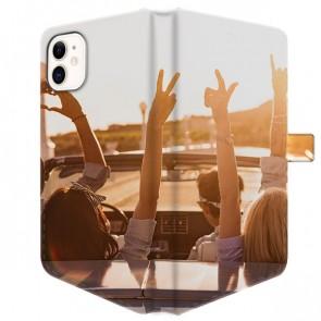 iPhone 11 - Coque Portefeuille Personnalisée (Sur Les 2 Faces)