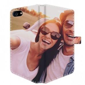 iPhone 7 & 7S - Coque Portefeuille Personnalisée (Sur Les 2 Faces)