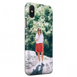iPhone Xs Max - Coque Rigide Personnalisée à Bords Imprimés