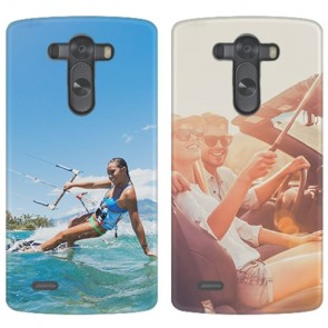 LG G3 - Coque Rigide Personnalisée à Bords Imprimés