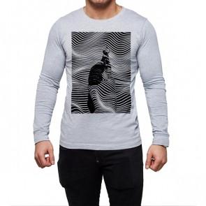 Homme - Manches Longues - T-Shirt Personnalisé