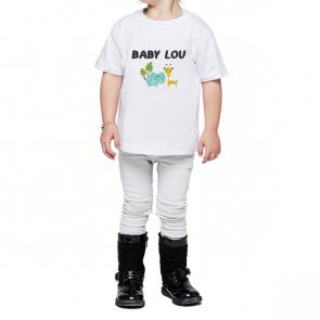 Tout petit - Col rond - T-shirt personnalisé