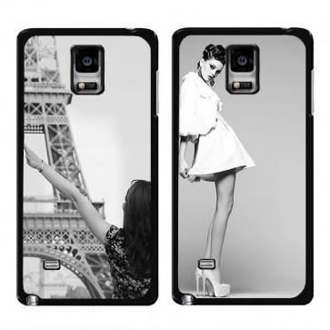 Samsung Galaxy Note 4 Edge - Designa ditt eget hårda skal - Svart