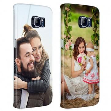 Samsung Galaxy S6 Edge Plus - Designa eget Runt tryckt Hårt Skal