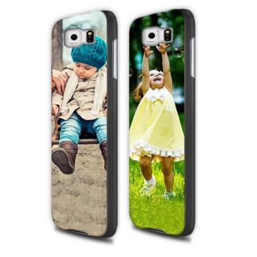 Samsung Galaxy S6 - Designa hårt skal - svart, vit eller genomskinlig