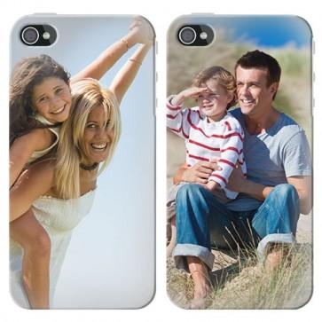 iPhone 4 och 4S - Designa ett hårt skal - Svart, Vit eller Genomskinlig