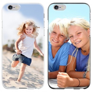 iPhone 6 PLUS & 6S PLUS - Designa eget mjukt silikonskal - Svart, vit eller genomskinlig
