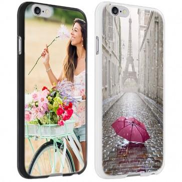 iPhone 6 PLUS & 6S PLUS -  Designa ditt eget hårda skal - Svart, vit eller genomskinlig