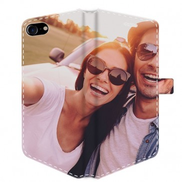 iPhone 7 - Personligt plånboksfodral - Heltäckande