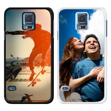 Samsung Galaxy S5 | S5 Neo - Designa ditt eget silikonskal - Svart eller Vit