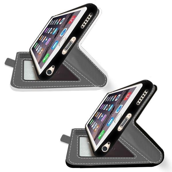 iPhone 6 - Designa ditt eget personliga plånboksfodral - Svart cb63811ea2f29