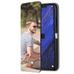 Huawei Mate 20 Pro - Designa eget Plånboksfodral (Print på Framsidan)