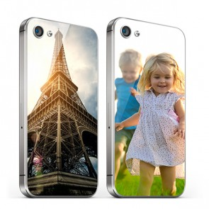 iPhone 4 en 4S - Designa ditt eget glas bakskal - Glas yta