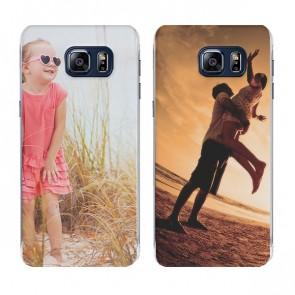 Samsung Galaxy S6 Edge Plus - Designa eget hårt skal - Svart, Vit eller Genomskinligt