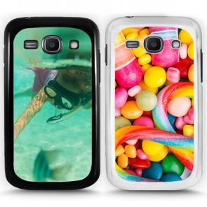 Samsung Galaxy Ace 3 - Designa ditt eget hårda skal - Svart & Vit
