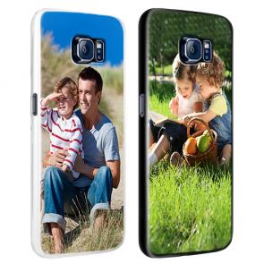 Samsung Galaxy S7 - Designa eget skal - Svart, vitt eller genomskinligt