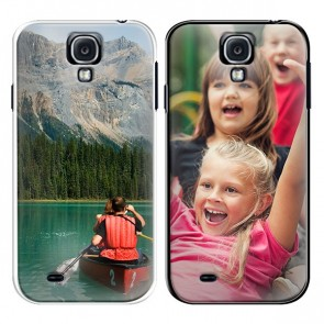 Samsung Galaxy S4 - Designa ditt egna mjuka silikonskal - Svart eller Vit