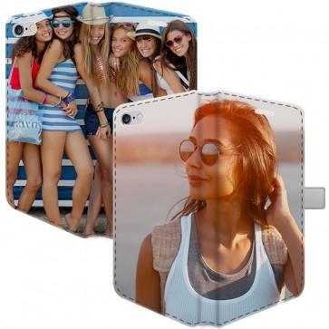 iPhone 5, 5S & SE - Cover Personalizzata a Libro (Stampa Integrale)