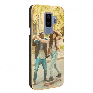 Samsung Galaxy S9 Plus - Cover Personalizzata in Legno