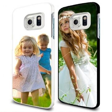 Samsung Galaxy S6 Edge - Cover Personalizzate Rigida con Stampa Integrale