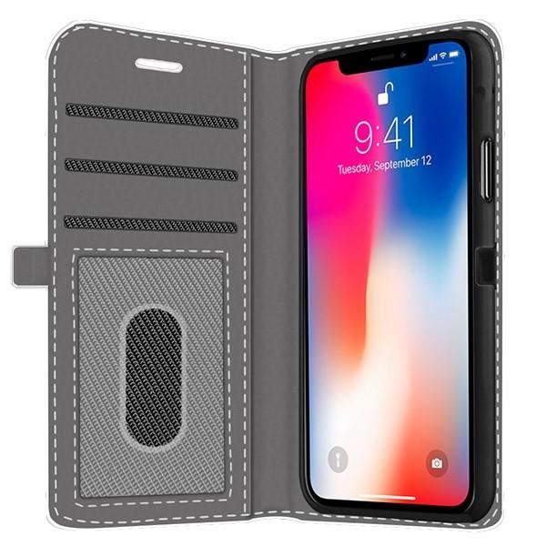 custodia wallet iphone x