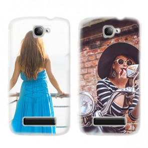 Alcatel One Touch Pop C7 - Cover personalizzata rigida - Nera