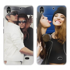 Huawei G620S - Cover personalizzate rigida - Bianca
