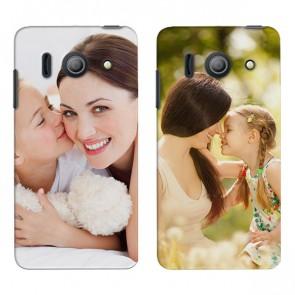 Huawei Ascend Y300 - Cover personalizzata rigida - Nera o Bianca