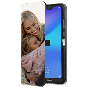 Huawei P20 Lite - Cover Personalizzata a Libro (Stampa Frontale)