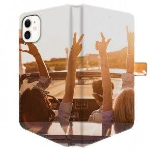 iPhone 11 - Cover Personalizzata a Libro (Stampa Integrale)