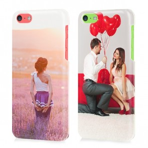 iPhone 5C - Cover Personalizzata Rigida con Stampa Integrale
