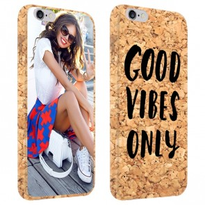 iPhone 6 & 6S - Cover Personalizzata in Sughero