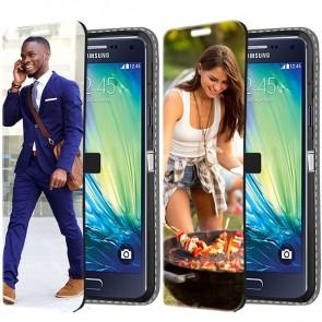 Samsung Galaxy A5 (2015) - Cover Personalizzata a Libro (Stampa Frontale)