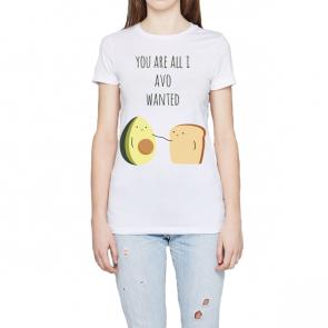 Donna- T-Shirt personalizzata classica girocollo