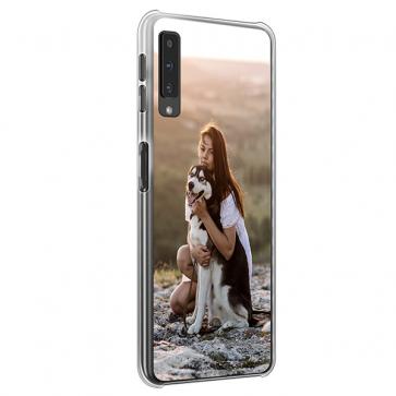 Samsung Galaxy A7 (2018) - Hard Case Handyülle Selbst Gestalten