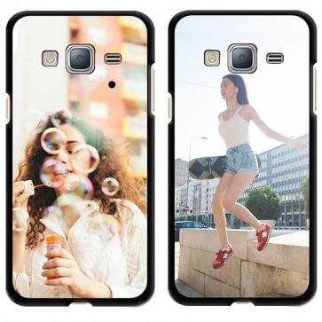 Samsung Galaxy J3 (2016) - Hard Case Handyhülle Selbst Gestalten