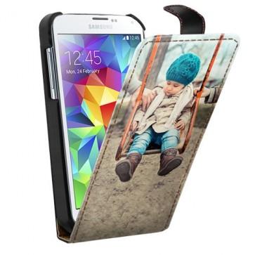 Samsung Galaxy S5 - Flip Case Handyhülle Selbst Gestalten